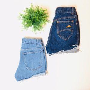 "Other - 23/24"" jean shorts bundle (Girls 10)"